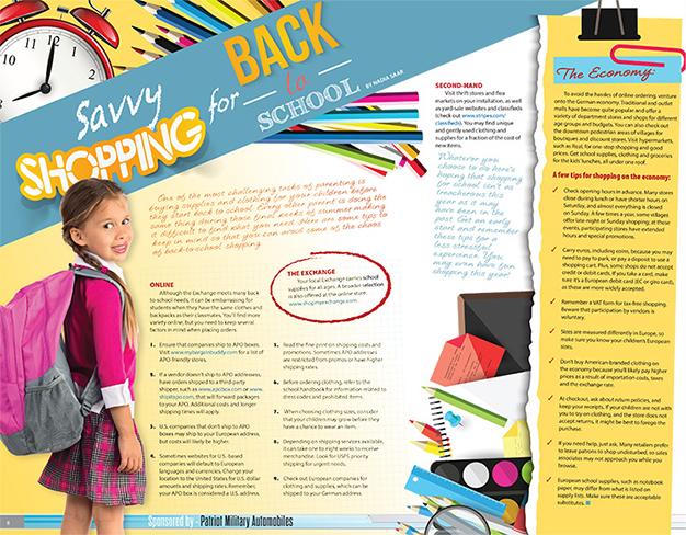 magazine layout, print